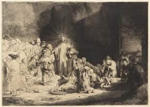 1177: Rembrandt van Rijn, (Dutch, 1606-1669), Christ He