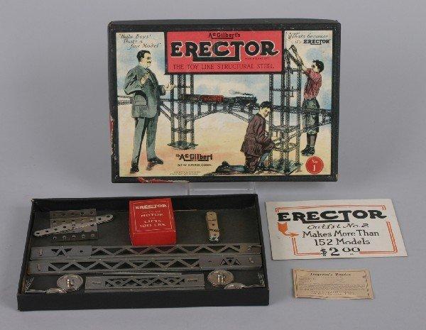 3: An A.C. Gilbert Erector Set,