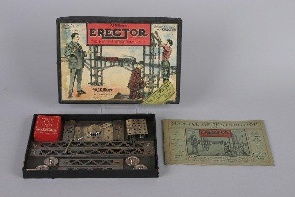 4: An A.C. Gilbert Erector Set,