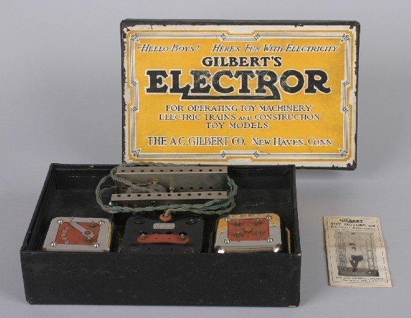 8: An A.C. Gilbert Electror Set,