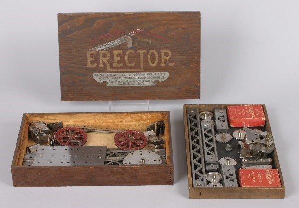 9: An A.C. Gilbert Erector Set,