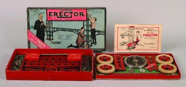 13: An A.C. Gilbert Erector Set,