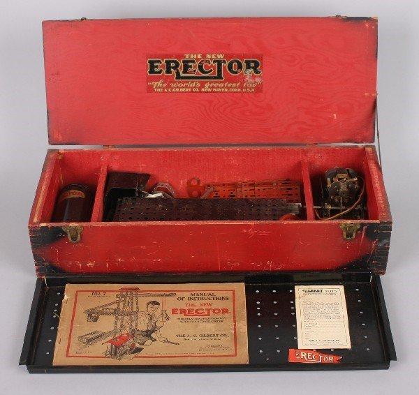 15: An A.C. Gilbert Erector Set,