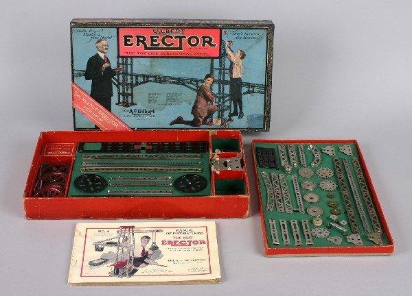 23: An A.C. Gilbert Erector Set,
