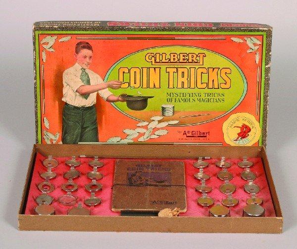 443: An A.C. Gilbert Coin Tricks Set,