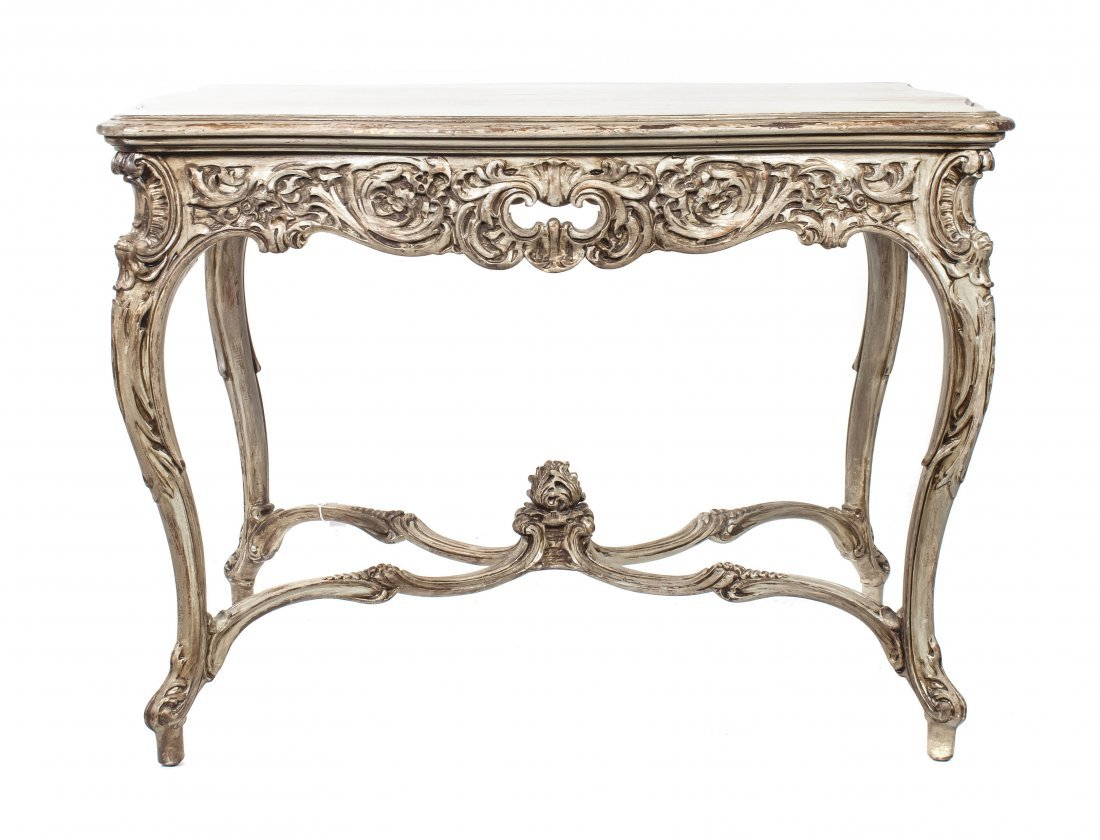 2024: A Louis XV Style Painted Occasional Table, Height