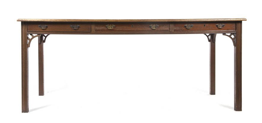 2104: A George III Style Mahogany Writing Table, Height