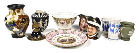 2303: A Collection of Continental and English Porcelain