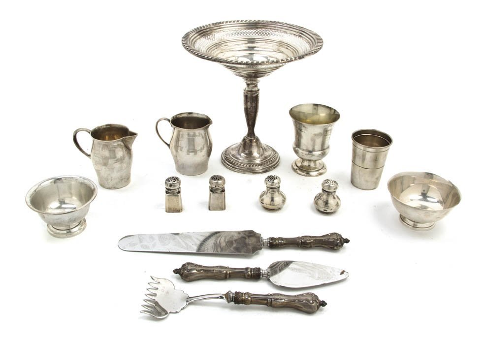 2553: A Collection of American Sterling Silver and Engl