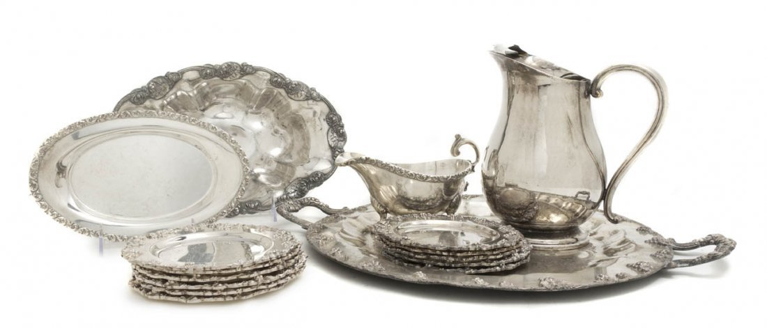 2554: A Collection of Silverplate Serving Articles, Dia