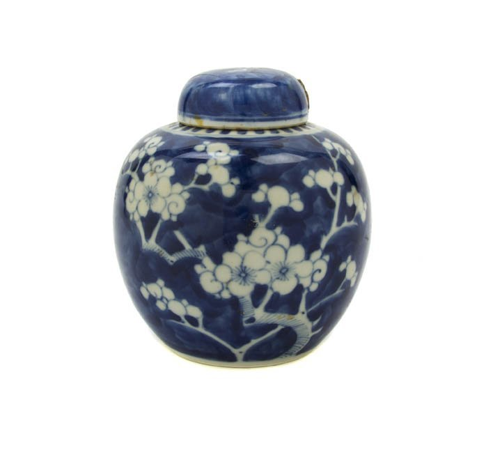 2740: A Chinese Porcelain Ginger Jar, Height 15 1/2 inc