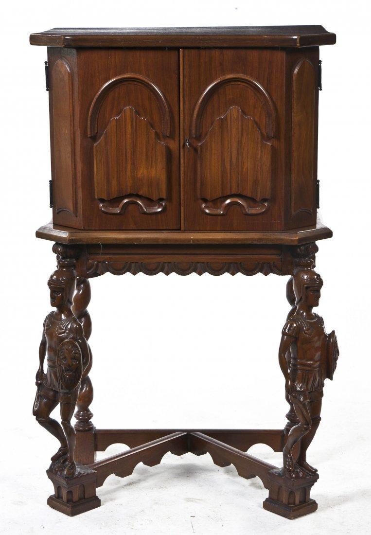 2010: A Renaissance Revival Mahogany Humidor, Height 35