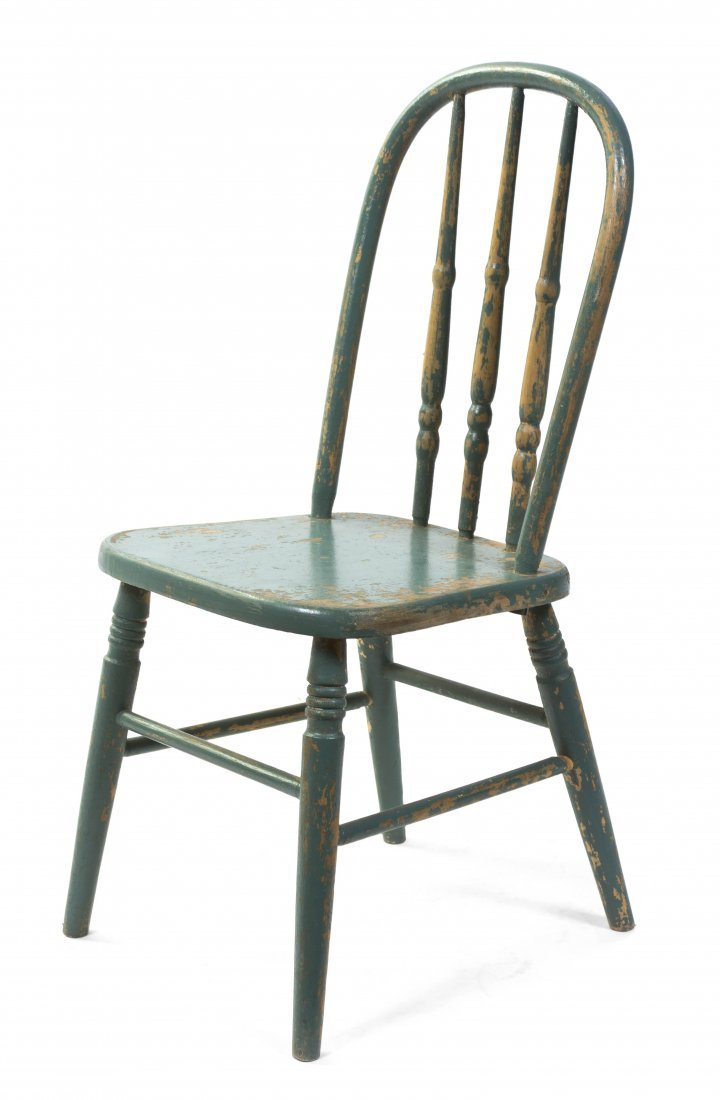 2020: An American Painted Child's Chair, Height 28 1/2