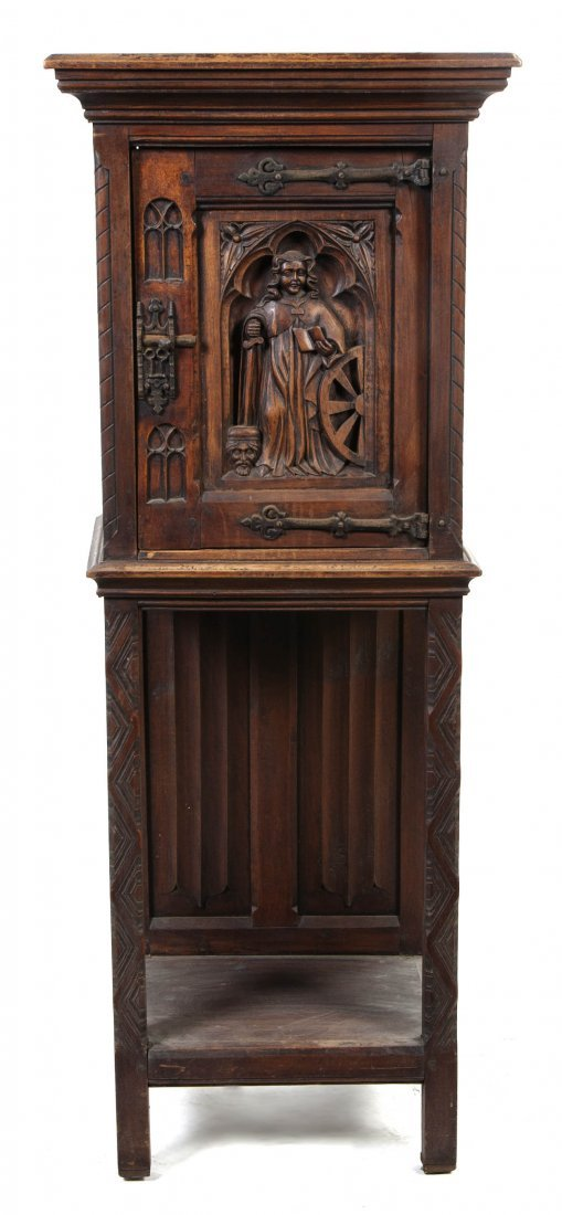 2023: A Renaissance Revival Carved Cabinet on Stand, He