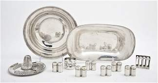 2503 A Collection of American Sterling Silver Articles