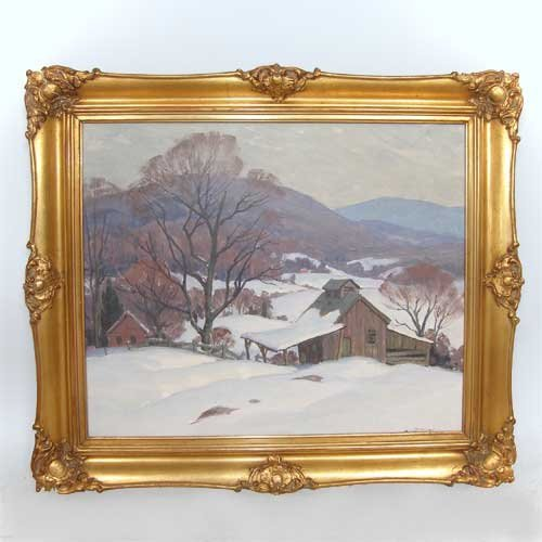 563: Arthur Lingquist, (American, 1889-1975), Vermont W