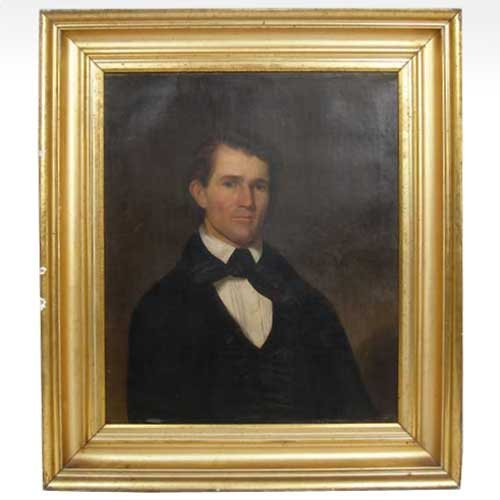 564: Artist Unknown, (American, 19th century), Portrait