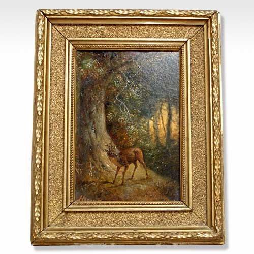 569: Harry Payne, (British, 1858-1927), Deer in the Woo