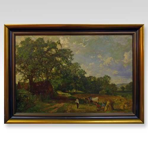 570: J. Muray, (English, 19th century), Hay Harvest