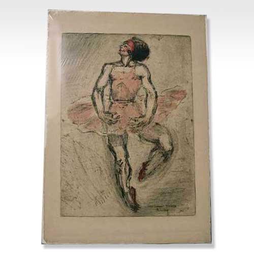 573: Jean Auscher, (French, 20th century), La Danseur T