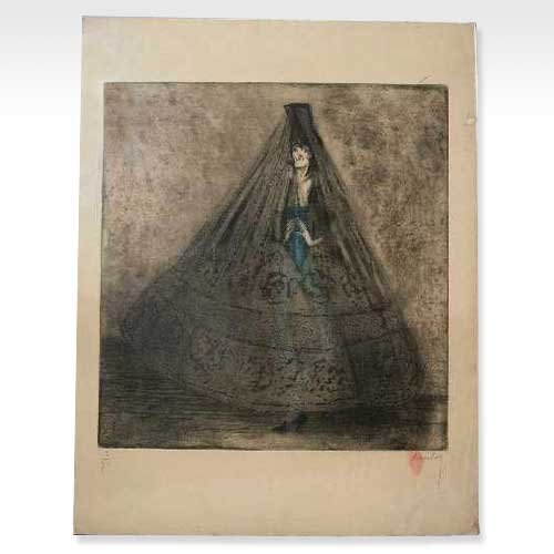 574: Jean Auscher, (French, 1880-1950), Transvestite Pe