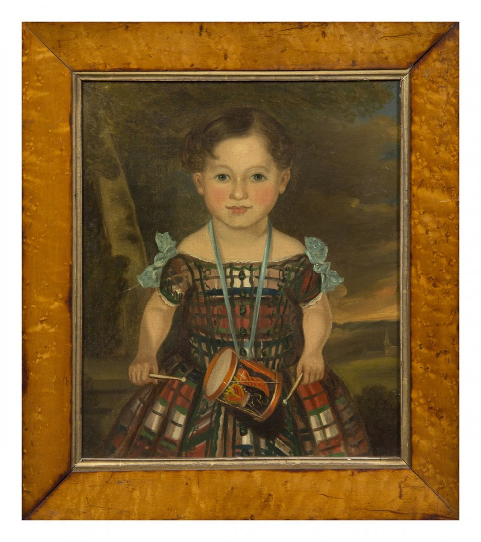 294: American School, (19th century), Portrait of a You