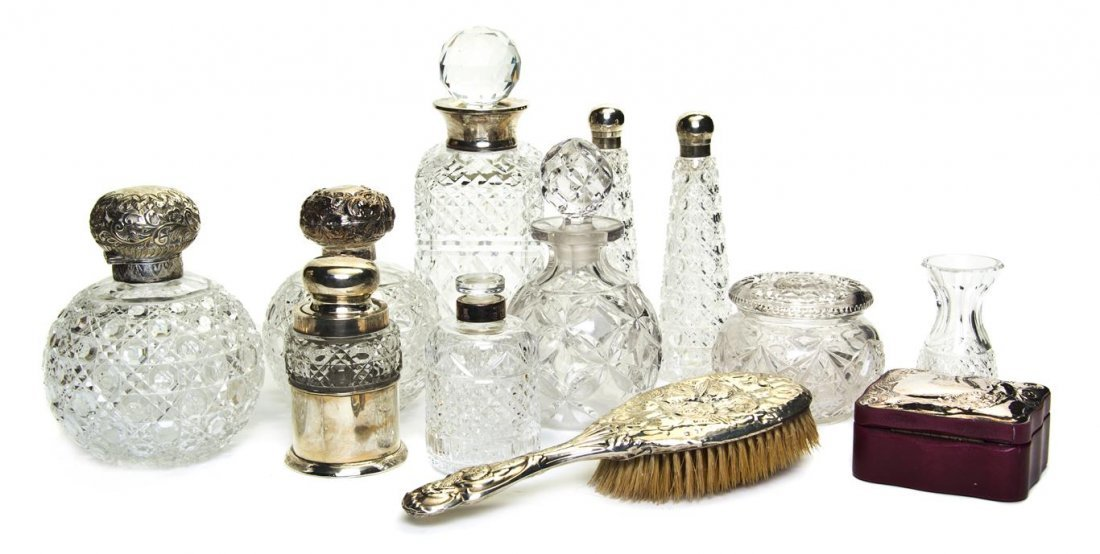 926: An Assembled Collection of Cut Glass and English S