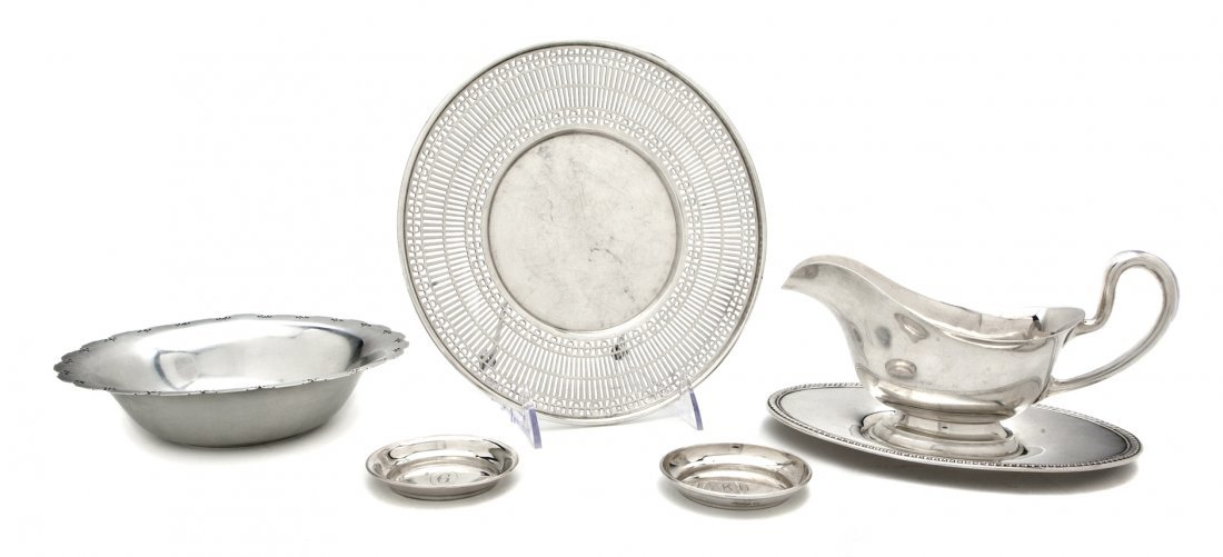 1064: A Group of Fourteen American Sterling Silver Arti