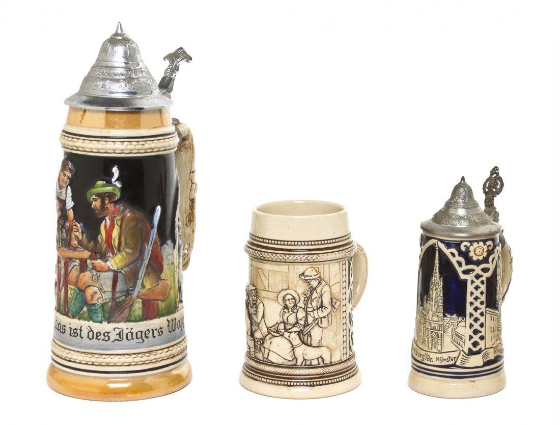 1077: A German Pottery Stein, Albert Jacob Stewalt, Hei