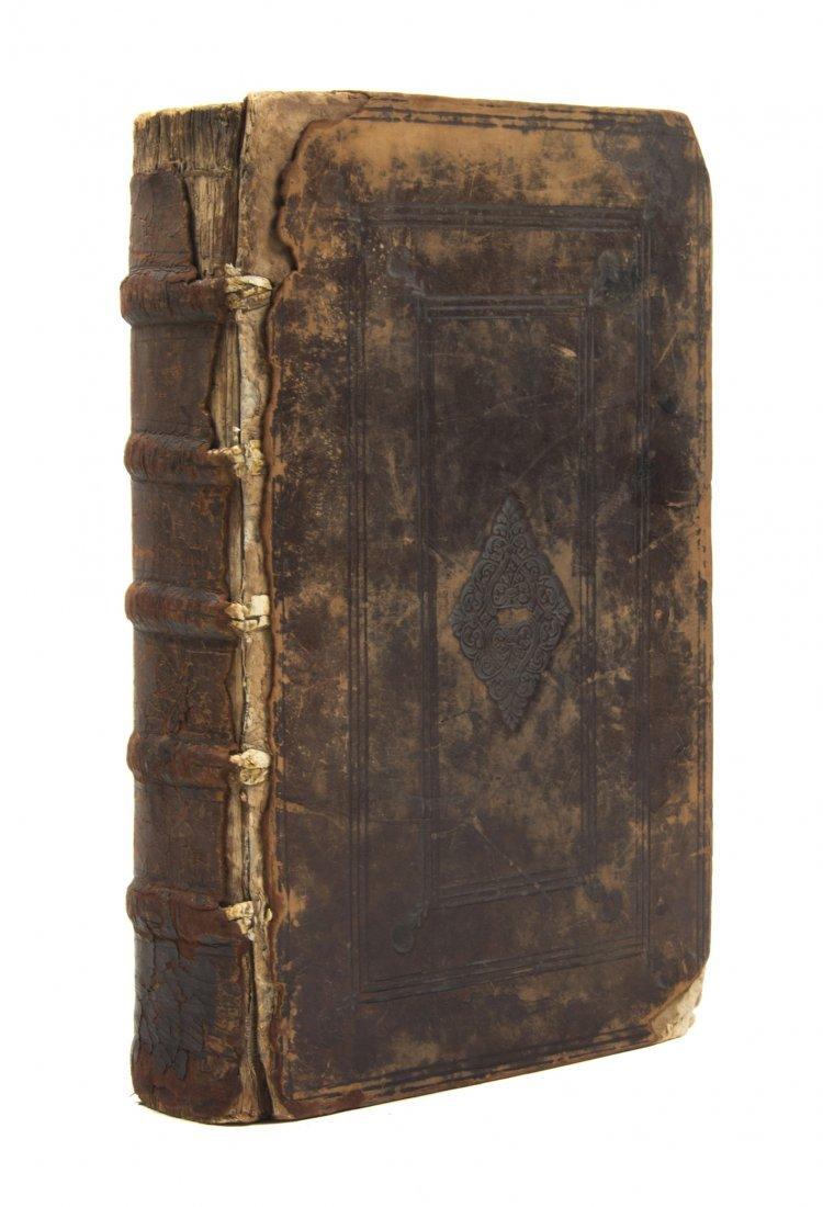 24: (BIBLE, GREEK AND LATIN) BEZE, THEODORE DE, ed. Ies