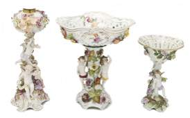 2341 A Collection of Continental Porcelain Figural Art