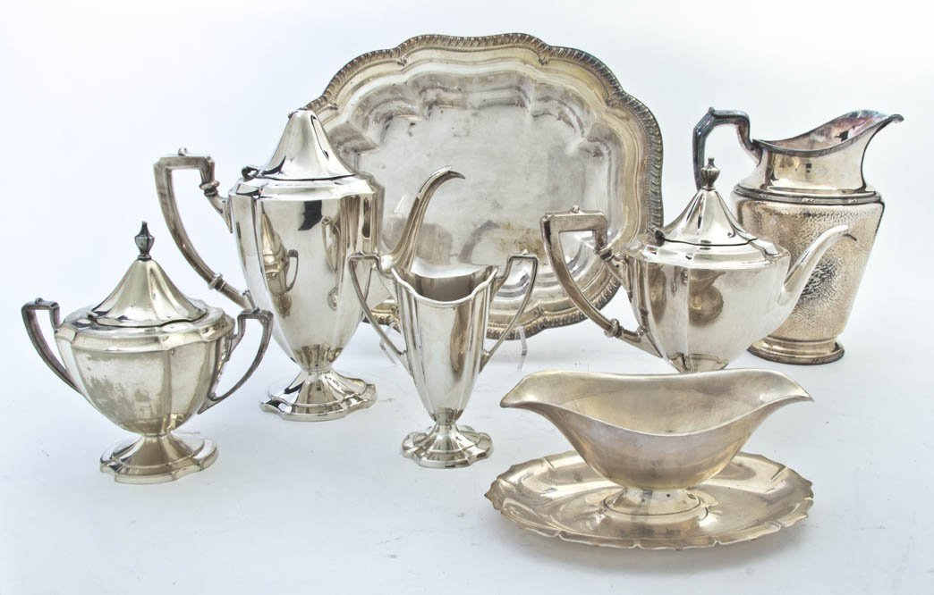 2667: A Collection of American and English Silverplate