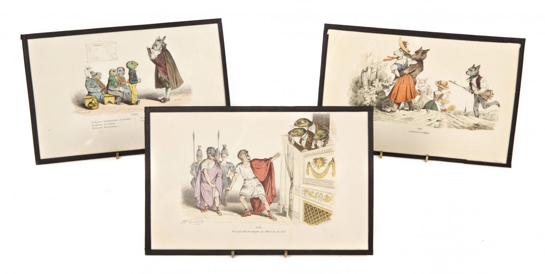 5: A Collection of Eighteen Book Plates from Les Metamo