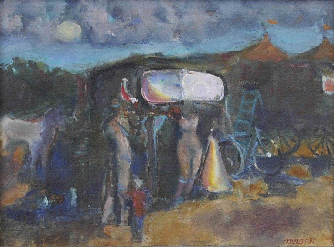605: Armando Morales, (Nicaraguan, 1927-2011), Circus,