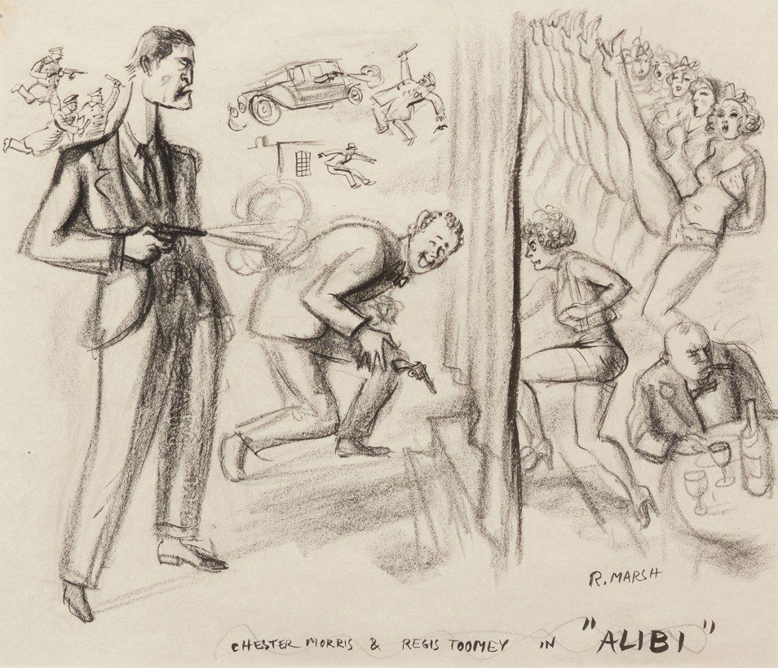 3: Reginald Marsh, (American, 1898-1954), Chester Morri
