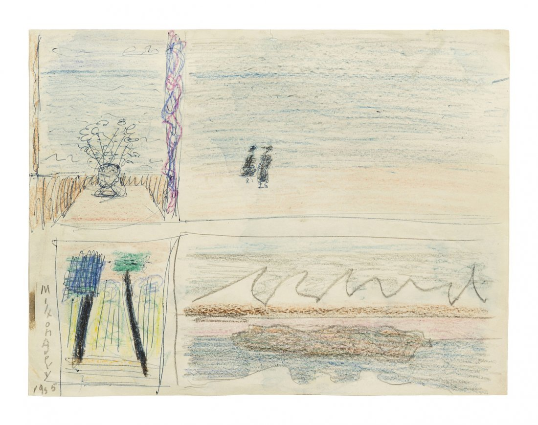 5: Milton Avery, (American, 1885-1965), Five Sketches,