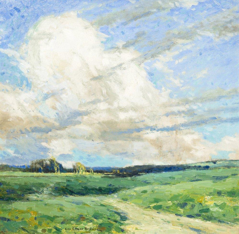 23: George Elmer Browne, (American, 1871-1946), Rolling