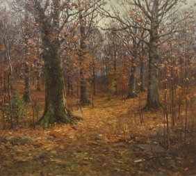 John Elwood Bundy, (American, 1853-1933), Fall Day