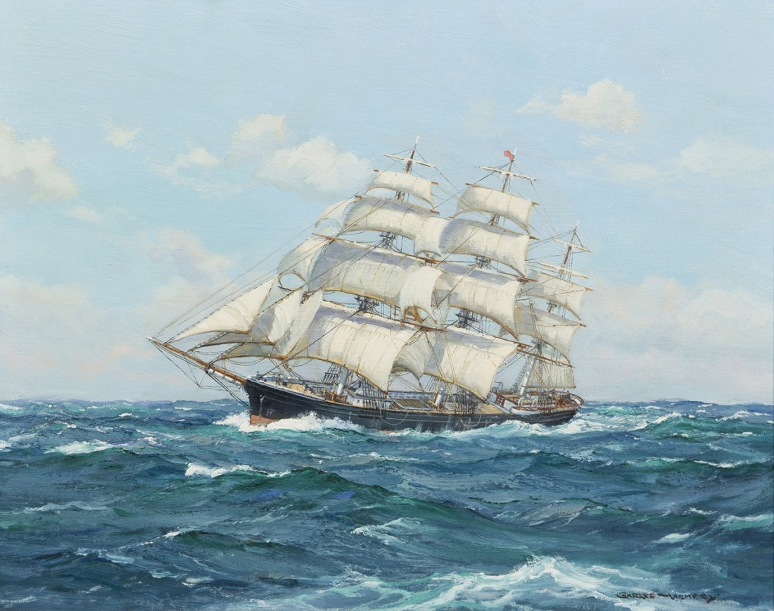 62: Charles Vickery, (American, 1913-1998), In the Trad