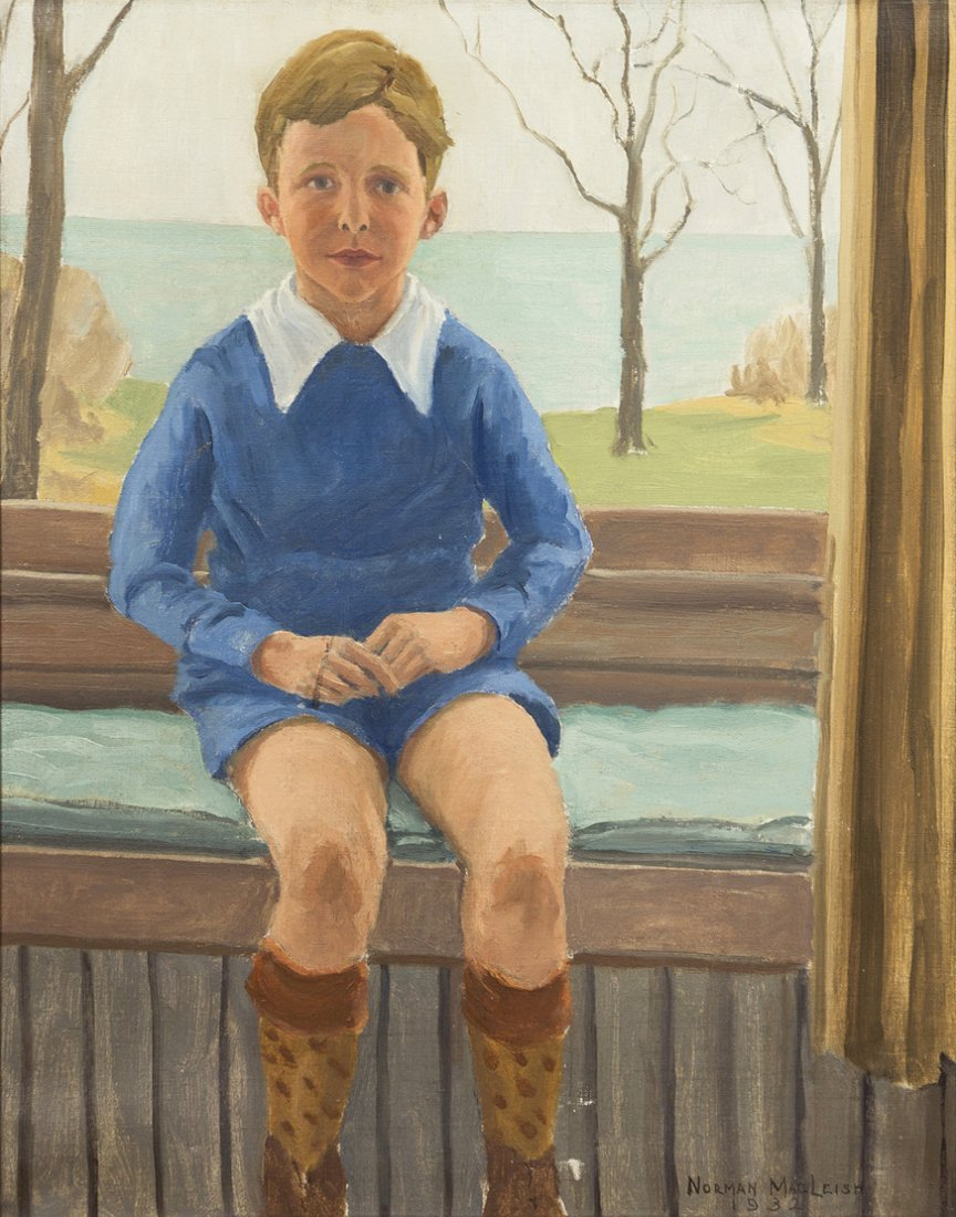 68: Norman MacLeish, (American, 1890-1975), Portrait of