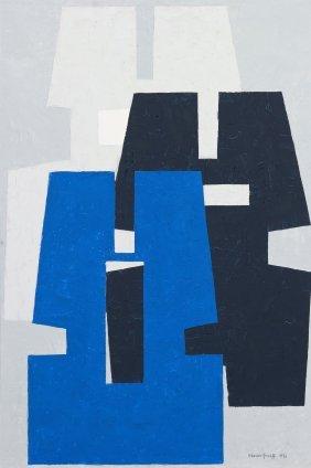 Werner Graeff, (German, 1901-1978), Ruho, 1977