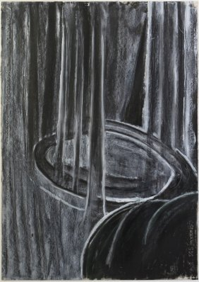 Ross Bleckner, (American, B. 1949), Untitled, 198