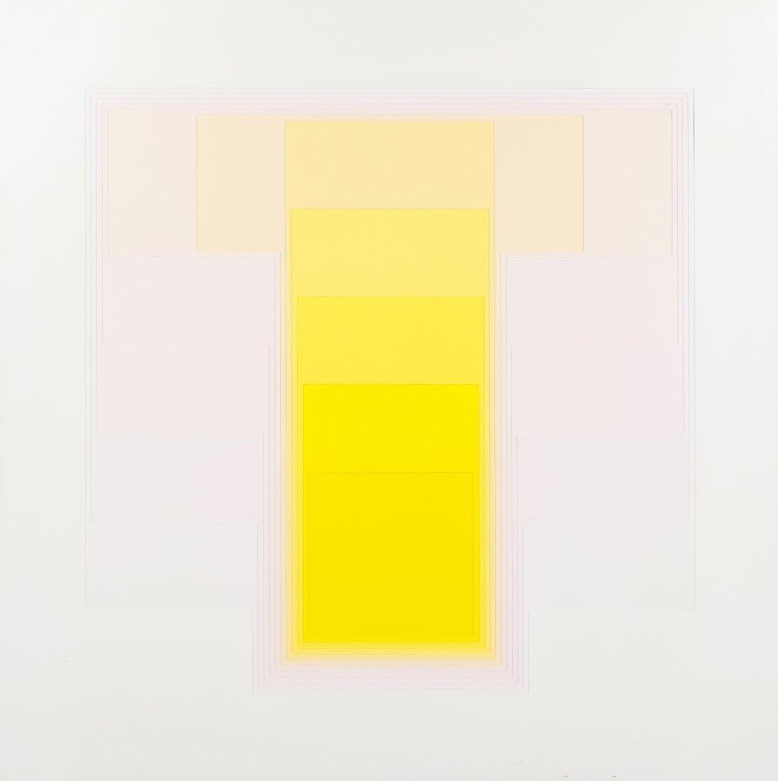1010: Karl Gerstner, (Swiss, b. 1930), Color Sound 4 B,