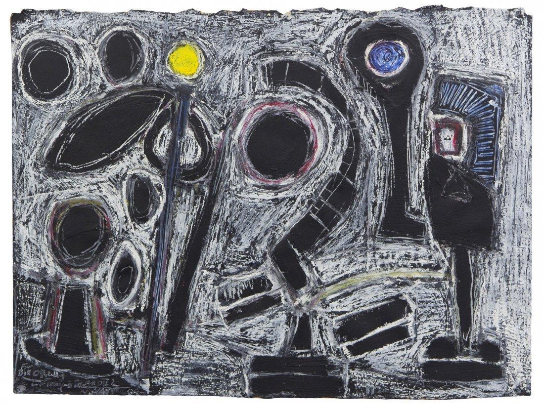1011: Jedd Novatt, (American, b. 1958), Untitled, 1989