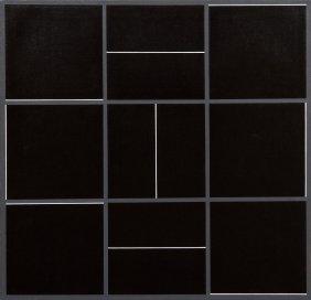 1012: Jan Kubicek, (Czech, b. 1927), Nine Lines in Nine