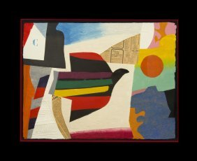 Max Papart, (French, 1911-1994), L'oiseau