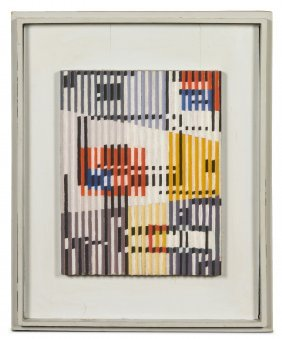 1014: Yaacov Agam, (Israeli, b. 1928), Untitled, c. 196