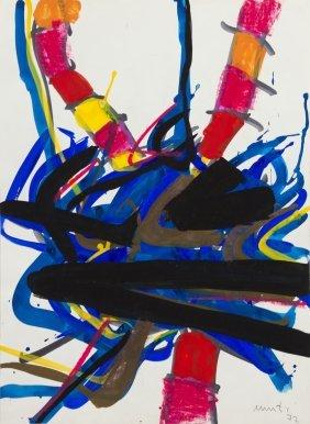 1017: Edo Murtic, (Croatian, 1921-2004), Untitled, 1972