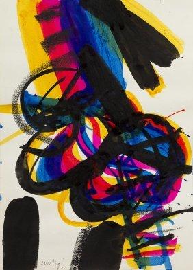 1018: Edo Murtic, (Croatian, 1921-2004), Untitled, 1972