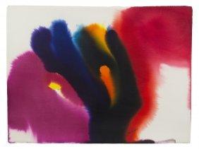 1019: Paul Jenkins, (American, 1923 - 2012), Phenomena